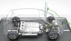 Zoe Battery Under Floor - Image Renault 2013